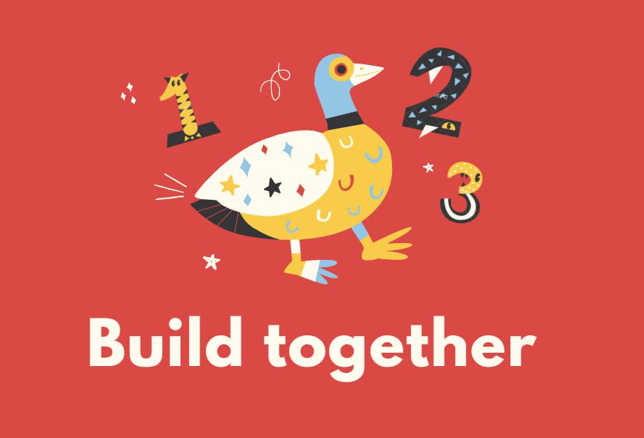 Build lego together