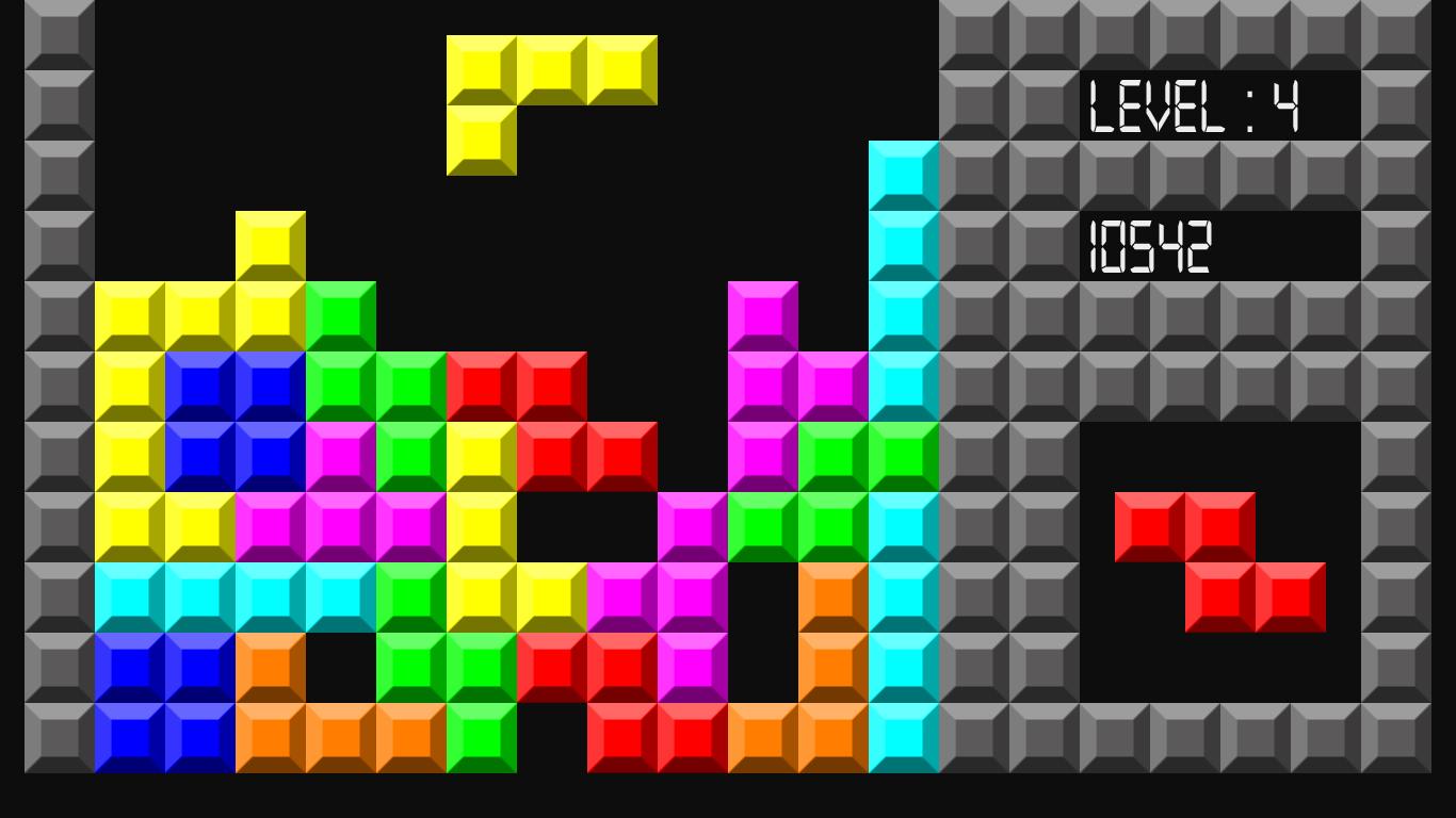 Best version Tetris Game