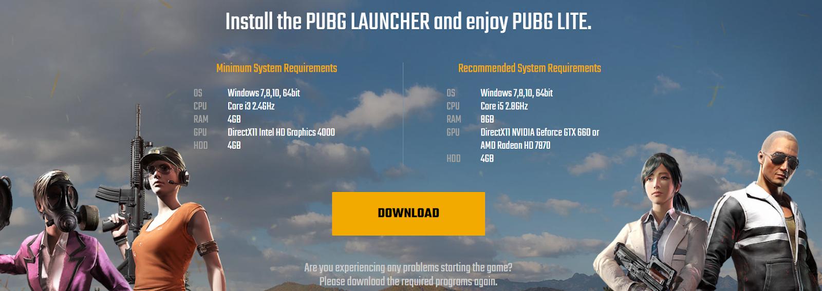 Install Pubg Launcher