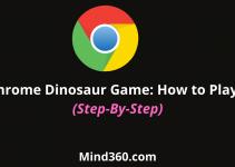 Chrome Dinasour Game